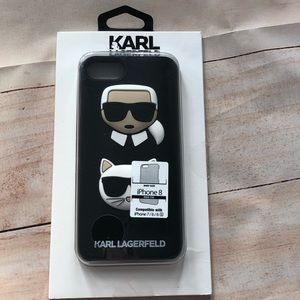 NWT Karl Lagerfeld & Choupette iPhone 8 Case